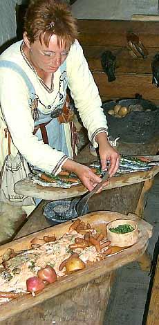 vikingatida mat recept